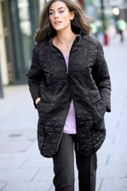 Triangle Quilted Jacket