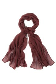 Scarf, solid color, soft flowing viscose