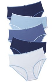 5 Pack of Panties - Pretty Blues