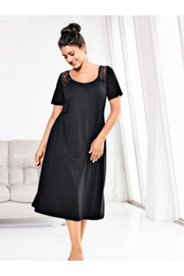 Lace Shoulder Nightgown