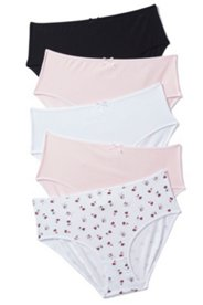 5 Pack of Panties - Hearts
