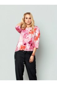 Shade of Pink Floral Tee