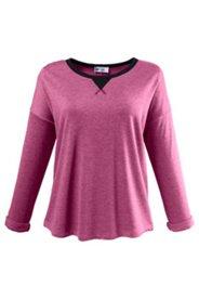 Pullover mit weiten Schultern