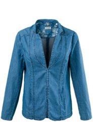 Jeans-Blusenblazer