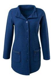 Mantel zum Knöpfen, 100% Wolle