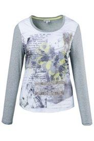 Shirt, Langarm, Vorderteil bedruckt, Qualitätsmischung