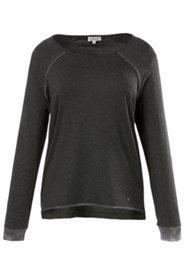 Shirt, elastisch, Rundhalsausschnitt, Viskosemischung, langarm