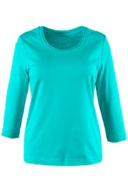 Basic-Shirt, 3/4-Arm