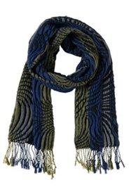 Schal mit Fransen, 185 x 28 cm