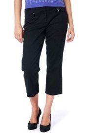 """Ulla Popken Mony Stretch Capri Pants"""" plus size,  plus size fashion plus size appare"""