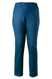 Jeans, Schlupfform, Stretch, Gummibund - Große Größen
