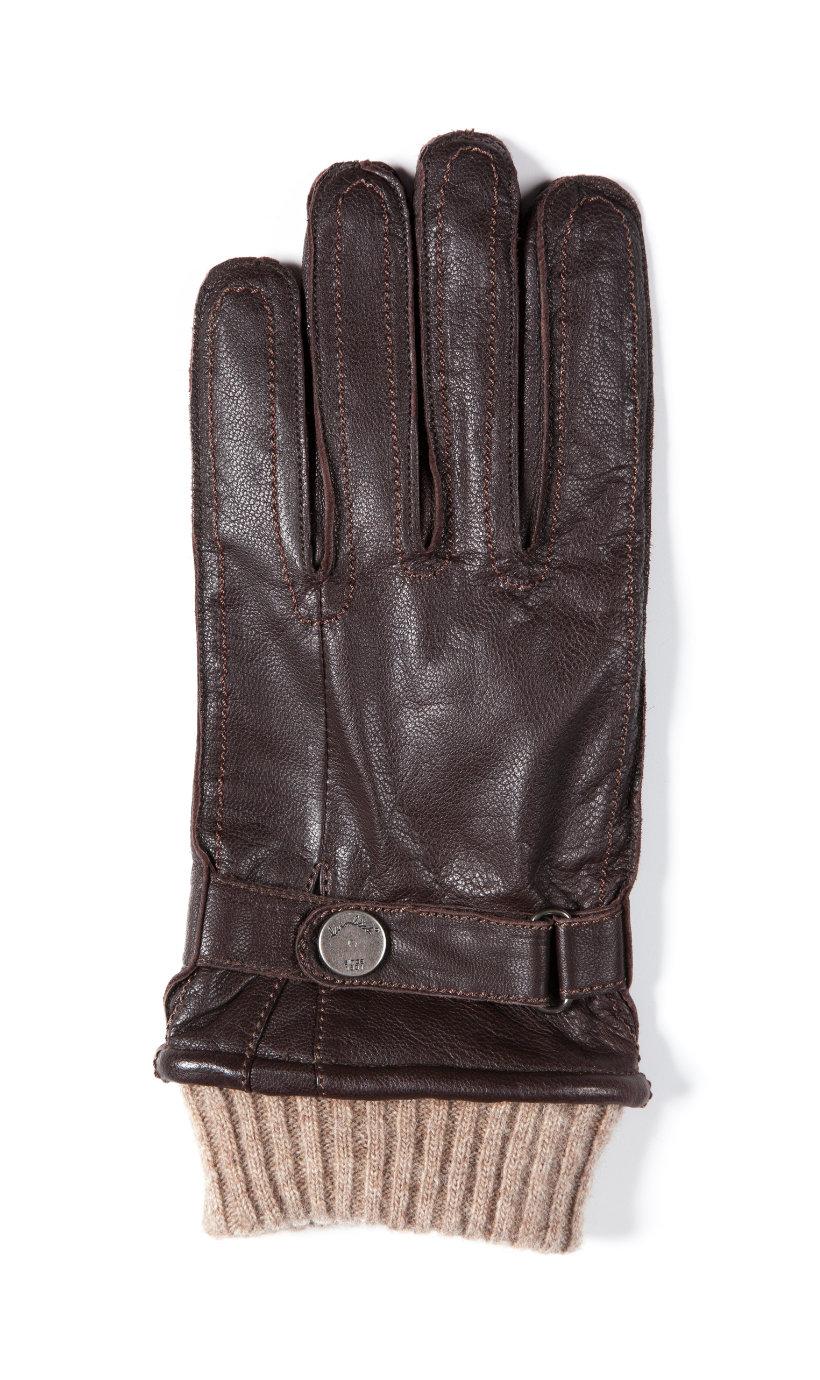 Ulla Popken leren handschoenen - Grote Maten