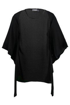 Blusenjacke aus leichter Crêpe-Qualität, weite Form