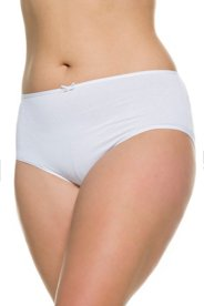 """Ulla Popken Versatile 5 Pack of Panties plus size,  plus size fashion plus size appare"