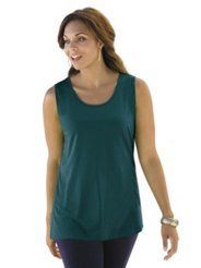 Plus Size Style from Ulla Popken: Classic Cotton Tank