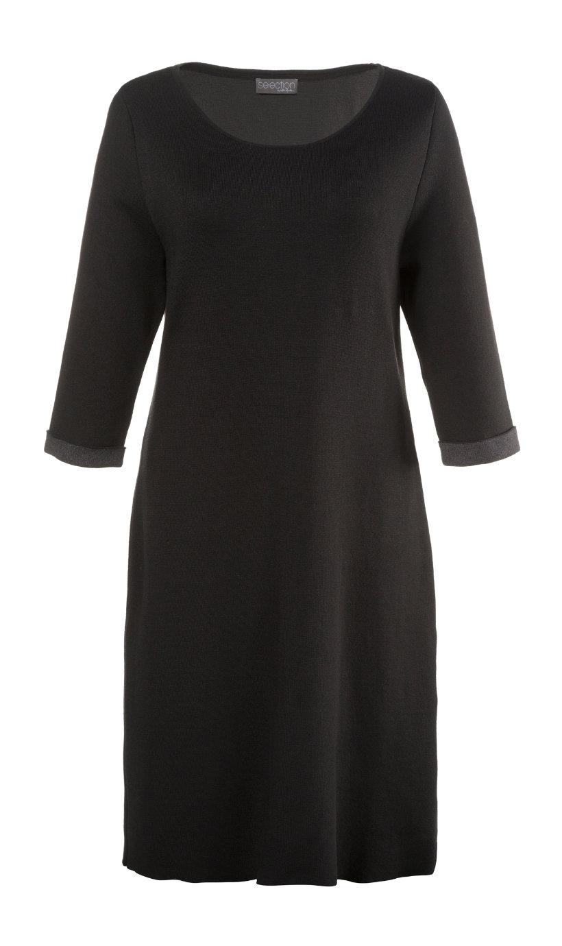 Ulla Popken jurk donkergrijs