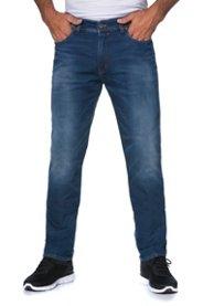 Jogging-Jeans, Sweatdenim, 5-Pocket, Straight Fit, Stretchkomfort - Große Größen Sale Angebote Ruhland