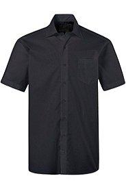 Hemd, Halbarm, Comfort Fit, Kent-Kragen, bügelleicht, Baumwolle