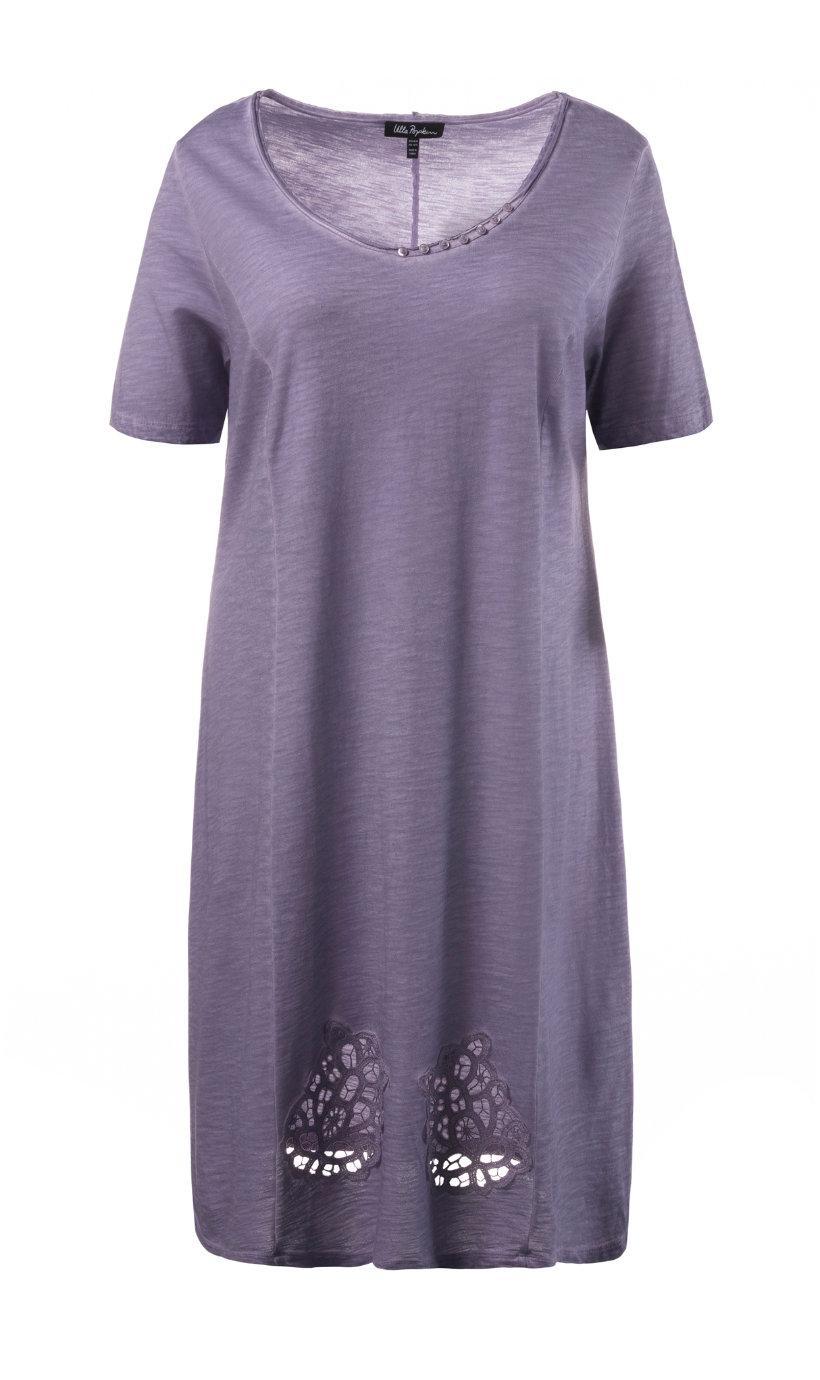 Ulla Popken jersey jurk violet