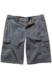 Ulla Popken Bermuda, Cargo-Style, 6 Pockets, elastischer Bund, Stretchkomfort - Große Größen