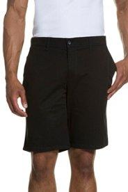 Bermuda, Hose, Chino-Style, 4-Pocket, Flatfront, Baumwolle, Stretch - Große Größen Sale Angebote Groß Luja