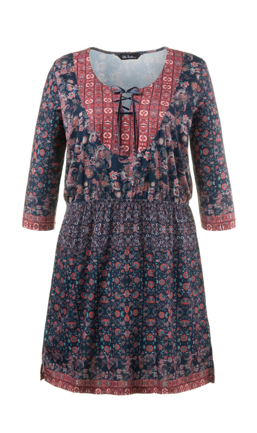 Ulla Popken jurk multicolour
