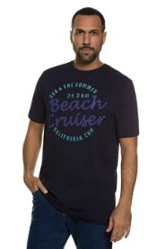 T-Shirt, BEACH CRUISER, Rollkanten, Jersey, große Größen - Große Sale Angebote Ruhland