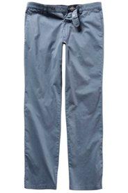 Ulla Popken Chino, Hose, gemustert, 4-Pocket-Schnitt, Bundband, Stretch, Regular Fit, große Größen - Große Größen