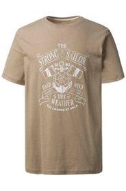 Schipkau Annahütte, Karl-Marx-Siedlung Angebote T-Shirt, STRONG SAILOR; runder Ausschnitt, kurze Ärmel, Jersey, große Größen - Große