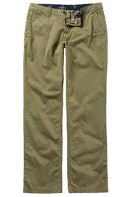 Ulla Popken Chino, Hose, leichte Qualität, 4-Pocket, Regular Fit, bequemes Bein, Baumwolle, große Größen - Große Größen
