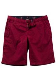 Ulla Popken Chino-Bermuda, kurze Hose, 4-Pocket, Regular Fit, bequemes Bein, Baumwolle, große Größen - Große Größen