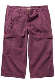 Ulla Popken Bermuda, Cargo-Style, 6 praktische Pockets, bequemer Schnitt, große Größen - Große Größen