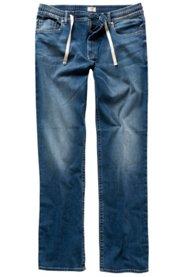 Ulla Popken Jeans, super elastisch, Gummibund, ohne Verschluss, 4-Pocket, große Größen - Große Größen
