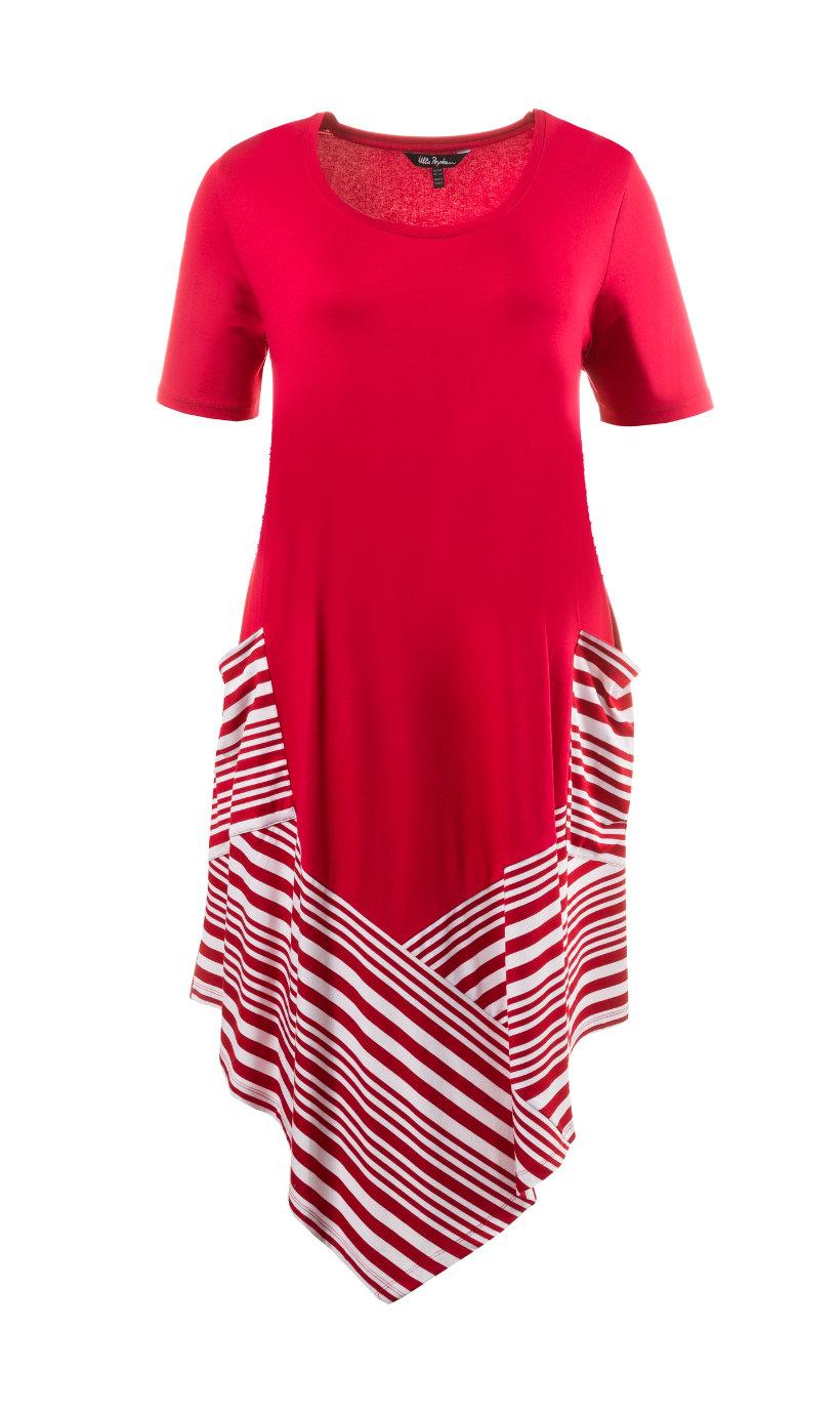 Ulla Popken jurk rood