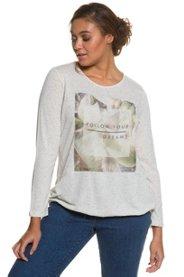 Shirt, Motiv ´´Follow your dreams´´, elastischer Saum - Große Größen