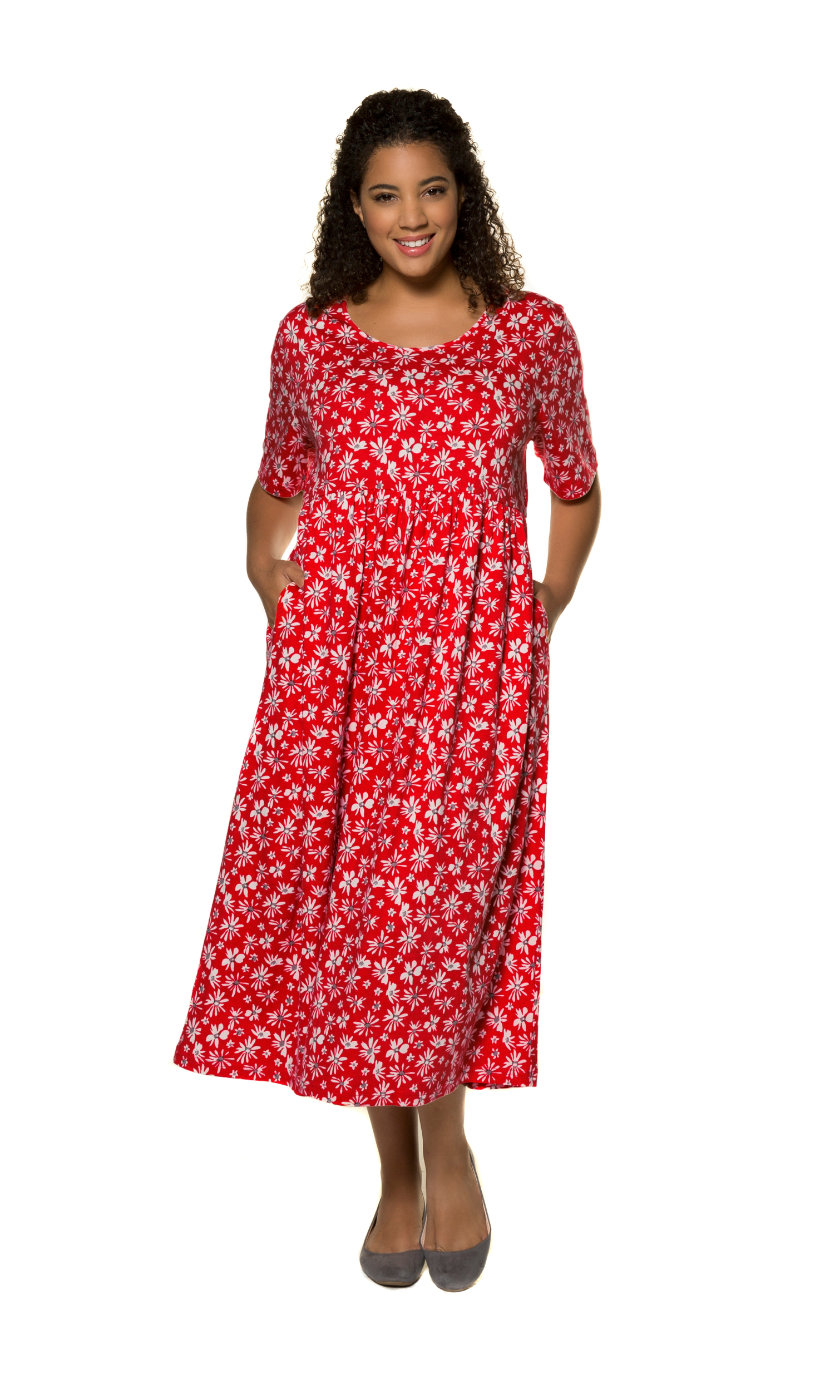 Ulla Popken jurk - grote maten multicolour