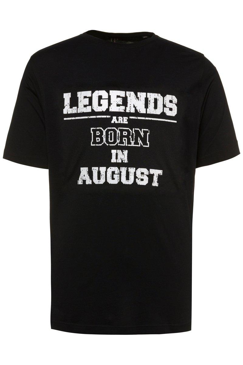 T-Shirt, Legends, runder Ausschnitt, Halbarn - Große Größen jetztbilligerkaufen