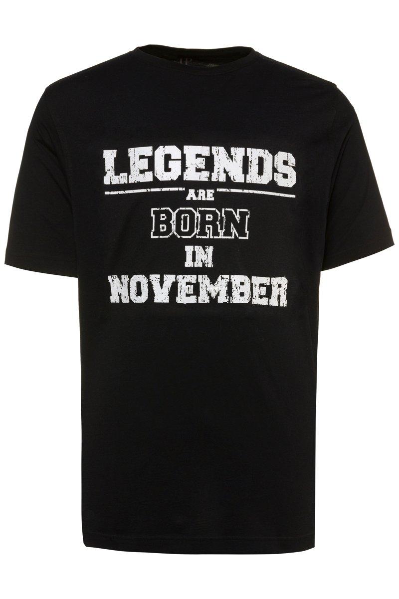T-Shirt, Legends, runder Ausschnitt, Halbarm - Große Größen jetztbilligerkaufen