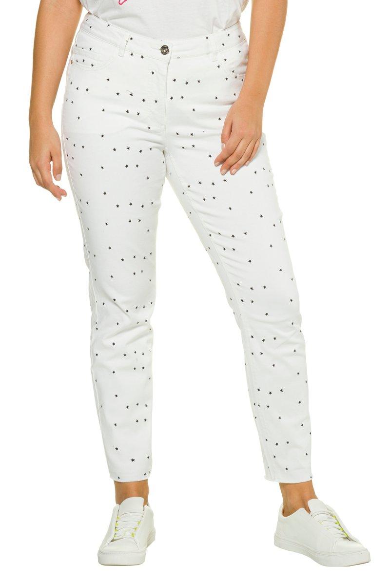 Jeans, Skinny, Sternenmuster, 5-Pocket - Große Größen jetztbilligerkaufen