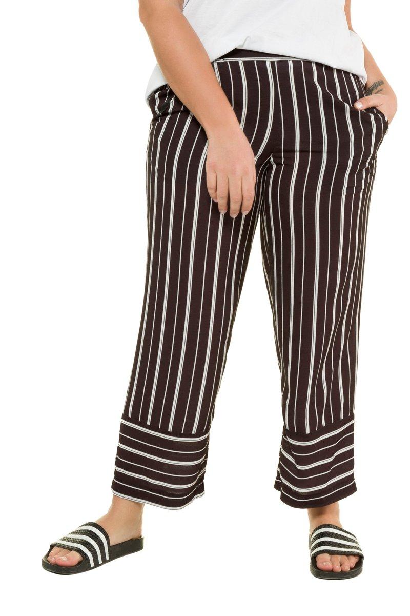 Hose, Streifen, Marleneform, Komfortbund - Große Größen jetztbilligerkaufen