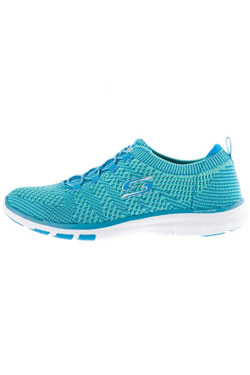 SKECHERS Sneaker, Turnschuh, Formstrick, elastische Schnürung, Memory Foam, Weite G - Große Größen jetztbilligerkaufen