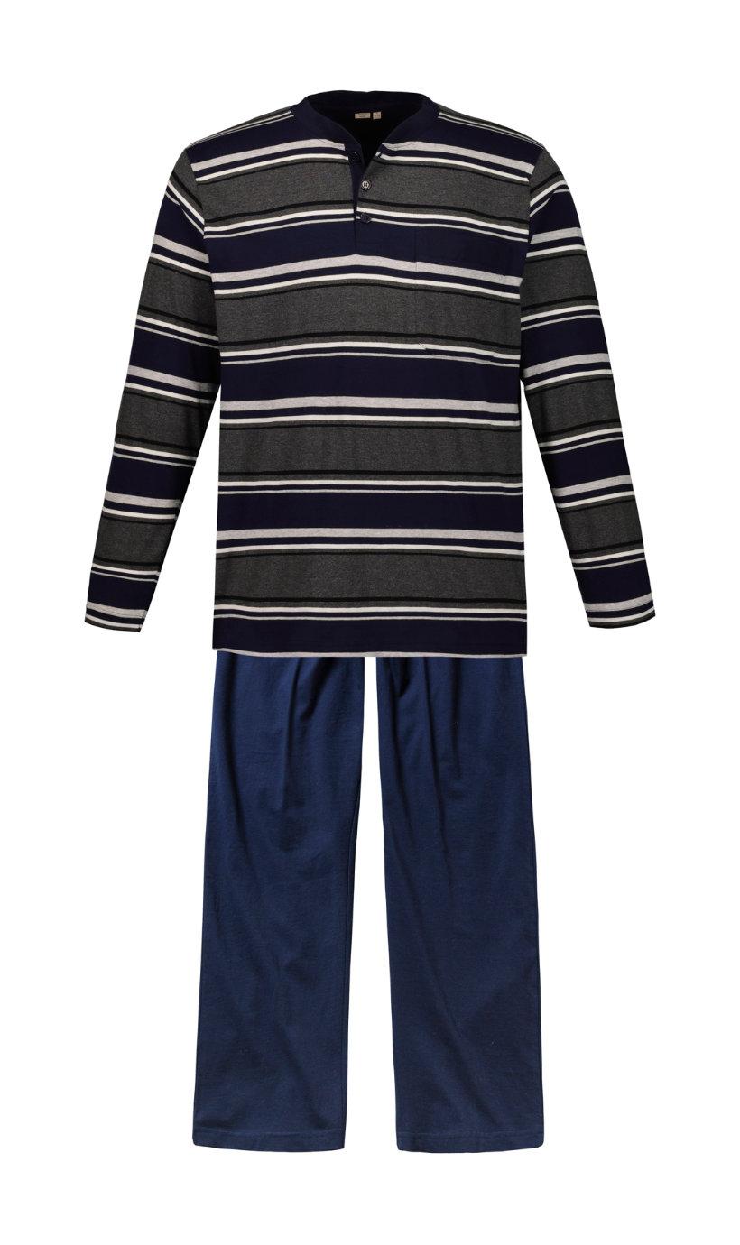 Ulla Popken pyjama, lang - Grote Maten