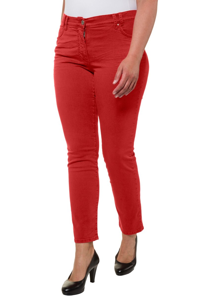 Ulla Popken Jeans Sammy, schmales Bein, 4-Pocket-Form, Stretchkomfort - Große Größen