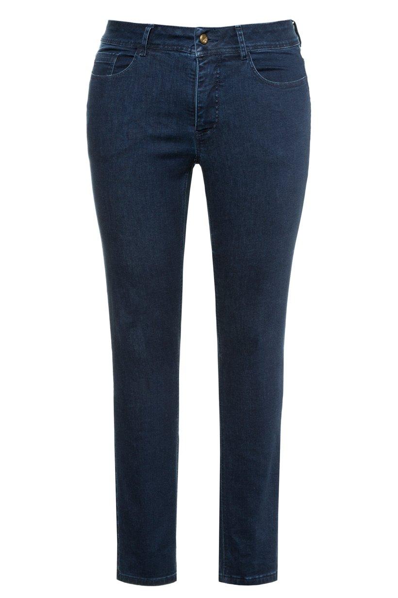 Ulla Popken Jeans Sarah, schmale 5-Pocket-Form, Stretch - Große Größen