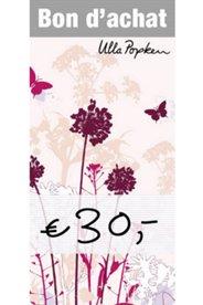 Le bon d'achat de 30€