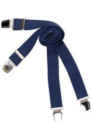 Hosenträger, verstärkte Clips, X-Form, längenverstellbar