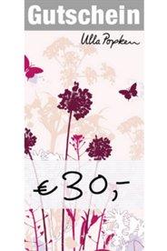 30,- € Gutschein